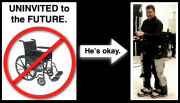 Medical Robotics Update:  Barbaric Wheelchair's Days Numbered