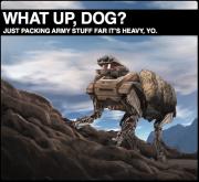 UPDATE:  Video of Boston Dynamics Big Dog 2.0 (Alpha Dog, LS3, Whatev)