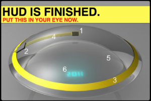 Augmented Reality in a Contact Lens: Profound Philosophical Quandary! Ish…