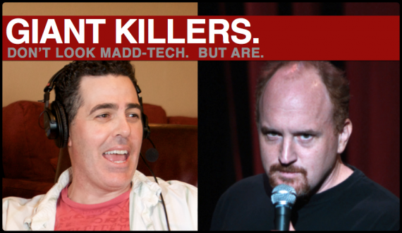 Adam Carolla &amp; Louis C.K.  New Heroes of Entertainment Technology