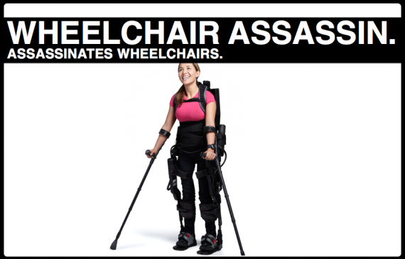 The Disabled Wage War Against the Wheelchair and Begin Test-Piloting Transhumanism