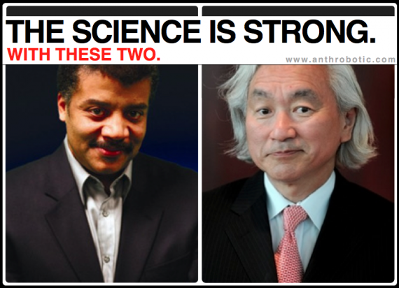 [REPOST] Who Will be the 21st Century Sagan? Michio Kaku vs. Neil deGrasse Tyson: FIGHT!