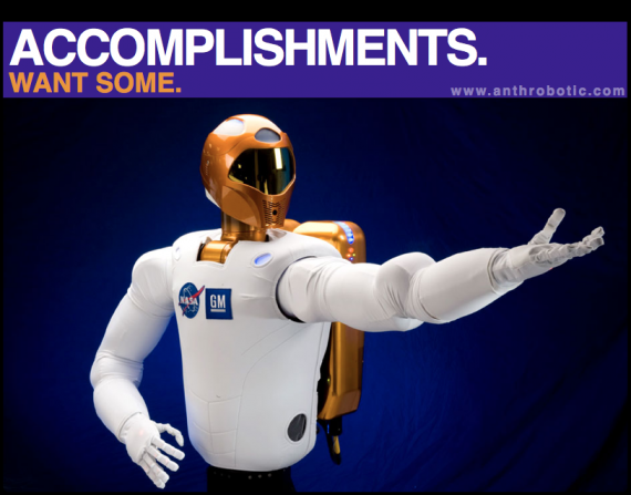 Remember NASA&#8217;s other Robot? Dear Robonaut 2, What is it that YOU do?