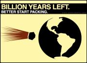 On Leaving the Earth. Like, Forever. Bye-Bye.
