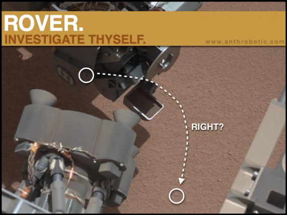 BREAKING NEWS: Curiosity finds Refined Metal on Mars!