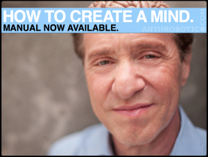 "Ray Kurzweil's ""How to Create a Mind"" available through Anthrobotic.com"