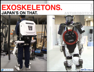 Activelink Power Loader Gives HAL Some Competition, but Who's Going to Fukushima?