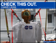 Robonaut Prepping for Bipedal Locomotion!