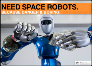 Know Your Robot Space Torsos: Justin, Robonaut, SAR-400, & AILA