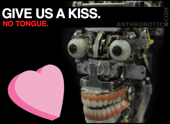 All I Want for Valentine's Day is a Robot Lover with an Aggregate Mindfile of the Best Parts of all my Ex-Girlfriends. Just Like Last Year.