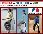 Honda's Got Robots, Sekisui's Got Houses, and the Japanese Government has Cash