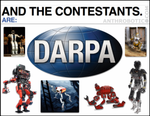 NEW VIDEO: DARPA Robotics Challenge, Track A – Meet the Big 6 for December