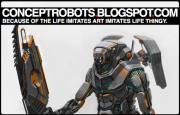 Hey Look Here's a Bunch of Cool Concept Robot Illustrations. That is all.