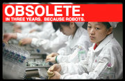 Robots to Chinese Manufacturing as China was to American Manufacturing?