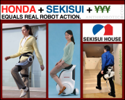Honda&#039;s Got Robots, Sekisui&#039;s Got Houses, and the Japanese Government has Cash
