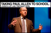 The Intellectual vs. The Engineer: Ray Kurzweil Puts Paul Allen's Cake Out in the Rain