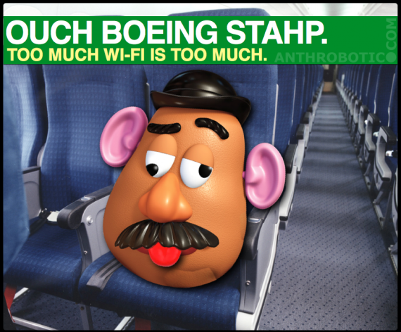 Using Potato Dummies for Aircraft Wi-Fi Testing is Funny & Merry Christmas (LOOKBACKING)