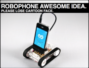 Smartphone Robot Dock: Finally a Good Use for My Old iPhone!