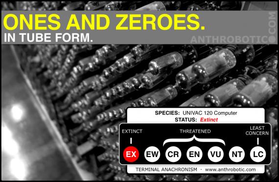 TERMINAL ANANCHRONISM: Decomposing UNIVAC 120 Computer Found in Tokyo