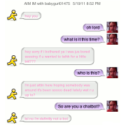 An Honest Discussion with a Sexy Chatbot...